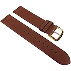 Copenhagen Replacement Watch Strap Calf Leather XL Band Brown Match Skagen/Boccia 23121G Bridge Width: 20 mm