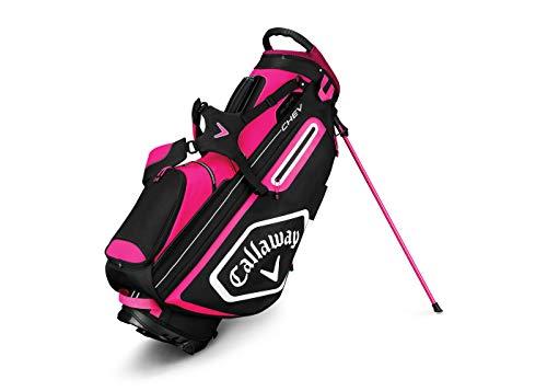 Callaway Golftasche mit Standfunktion, Pink/Weiß/Schwarz