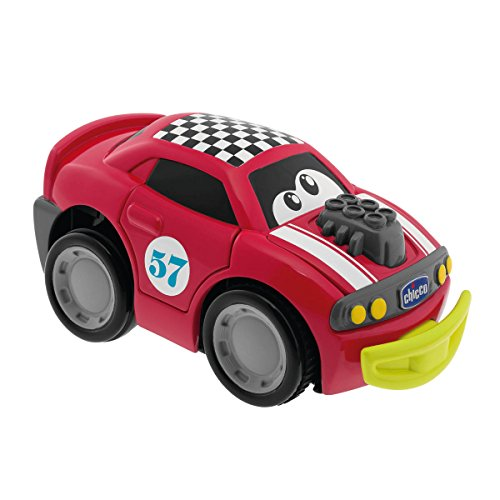 Chicco - Coche Turbo Touch Crash Derby, Color Rojo (00006716000000)