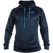 Adidas Warm Up Hoodie azul / gris, Talla:XL