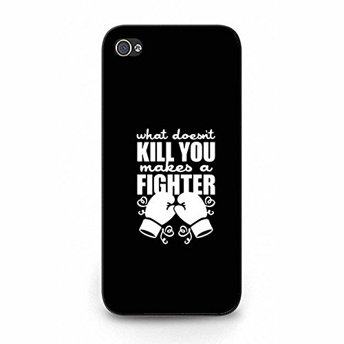 Boxing Iphone 5/5s Case Hot Cool Design Boxing Phone Case Cover for Iphone 5/5s Fight Black Color143d