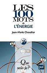 Les 100 mots de l'énergie: « Que sais-je ? » n° 3815