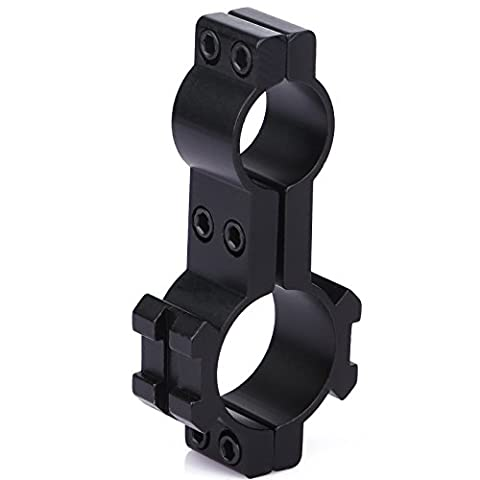 Dophee 25,4mm/19mm Doppel Ring Anblick Scope Weaver Schiene Mount Adapter