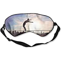 Sleep Eye Mask Parkour Maximal Exercise Lightweight Soft Blindfold Adjustable Head Strap Eyeshade Travel Eyepatch preisvergleich bei billige-tabletten.eu