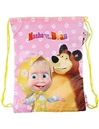 Masha and the Bear M/ädchen Kinderhandtasche rosa Rosa