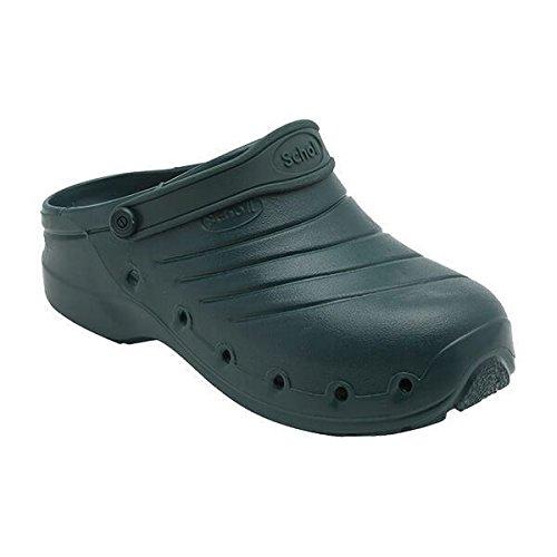 Scholl Worklight calzatura professionale, Colore: Bianco, Taglia: 41-42 Nero