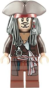 LEGO Pirates Des Caraibes: Capitaine Jack Sparrow Avec Tricorne Mini-Figurine