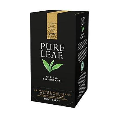 Pure Leaf Thé Noir Chai 25 Sachets Pyramides - Lot de 2