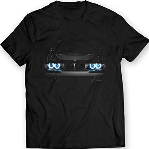 Bmw E39 M5 540 Faros Glow Camiseta Idea de Regalo S62 V8 Motor
