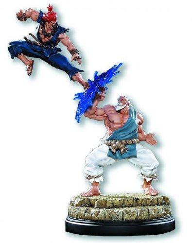 Street Fighter Gouken & Akuma Diorama Statue