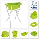 Rotho Babydesign – BB Windeleimer, apple green - 2