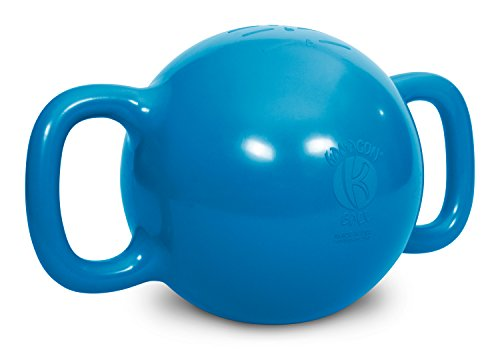 Kamagon Wasser gefüllt verstellbar Gewicht Kettlebell, blau, 9 inch