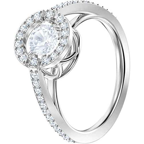 Swarovski Damen-Ringe Edelstahl Kristall '- Ringgröße 58 5482518