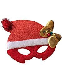 Libeauty Sombrero de navidad con marco de gafas decorativas (empaque de opp)