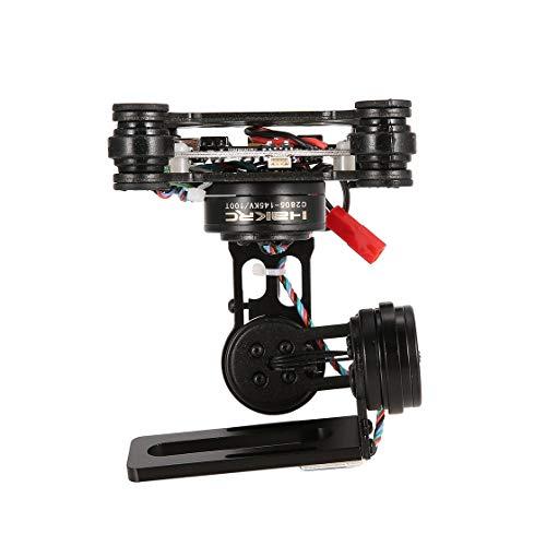 HAKRC 3 Axes sans Balai PTZ Strom 32 BGC Stabilisateur de cardan pour cardan pour Drone Quadricoptère RC Caméra Gopro3 / 4 DJI Phantom