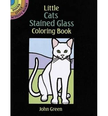 [ LITTLE TROPICAL FISH STAINED GLASS COLORING BOOK (DOVER STAINED GLASS COLORING BOOK) ] BY Green, John ( Author ) [ 1990 ] Paperback -