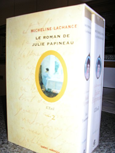 Le Roman de Julie Papineau Coffret 2 Tomes