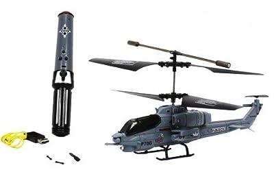 Electric 3.5CH Pheoni Cobra Marine GYRO Motion Control RTF RC Helicopter - Pheonix P700B