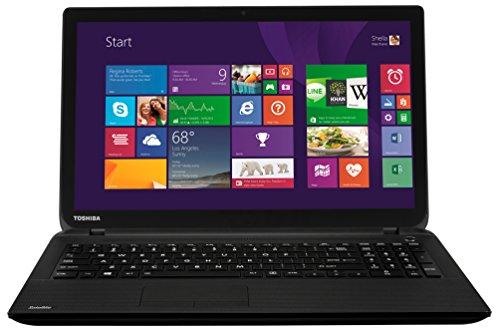 Toshiba C50Dt-B-107 AMD A8 Processor, 8GB RAM, 1TB HDD Storage, 15.6 inch Touchscreen Laptop - Black