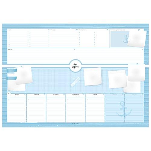 Schreibtischunterlage aus Papier mit 50 Blatt zum Abreißen - Hochwertige Schreibunterlage im Format DIN A2, Papierunterlage für Kinder und Erwachsene: ... 2018 - Stay Inspired by Lisa Wirth