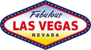 Preisvergleich Produktbild Die Reise nach Las Vegas Reise-Aufkleber-Siegel - Koffer Tablet PC (Japan-Import)