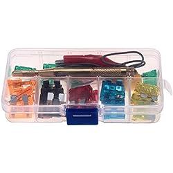 Fusible Tester 30fusible calificaciones eléctricos Circuito Sonda Tester portátil Auto camión coche pen stick