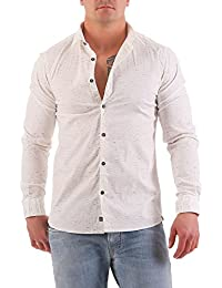 NO EXCESS - Chemise casual - Col Chemise Classique - Homme