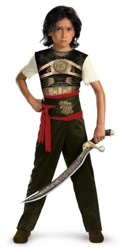 Prince of Persia Dastan Classic Halloween-Kostüm–Kind Größe: Medium -