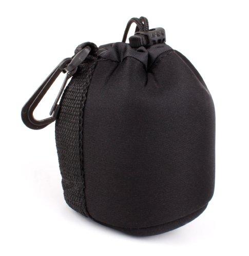 Bolsa Negra Para Objectivo Sigma 30mm F1.4 DC DN | C - Ligero Para Transportar - Alta Calidad -