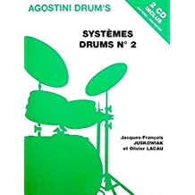 Juskowiak/Lacau Systemes Drums No2 Drums Book/2Cd French