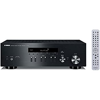 yamaha r n402d black musiccast netzwerk receiver mit dab. Black Bedroom Furniture Sets. Home Design Ideas