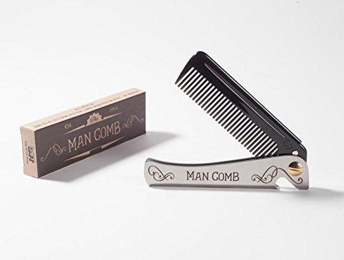 Man Comb 'Limited Edition'. Das ultimative Hilfsmittel für Ihr Haar, Ihren Bart und Ihr Bier.