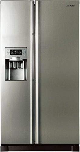 Samsung RS21HUTPN1 Side-by-Side Refrigerator (585 Ltrs, Platinum Inox)