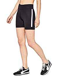AURIQUE Women's Side Stripe Cycling Shorts