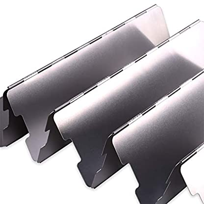 H&S 10 Plates Foldable Outdoor Camping Cooker Wind Screen Gas Stove Windshield 2