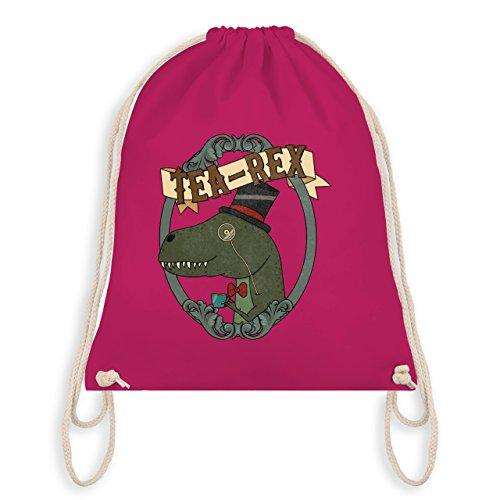 Comic Shirts - Tea-Rex - Unisize - Fuchsia - WM110 - Turnbeutel & Gym Bag