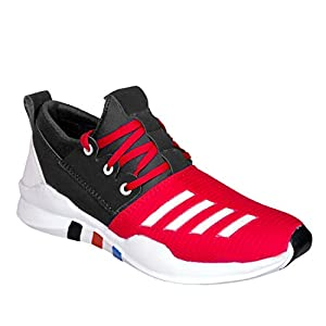 New Designer Truewalk premium Red sporty shoes for Boys