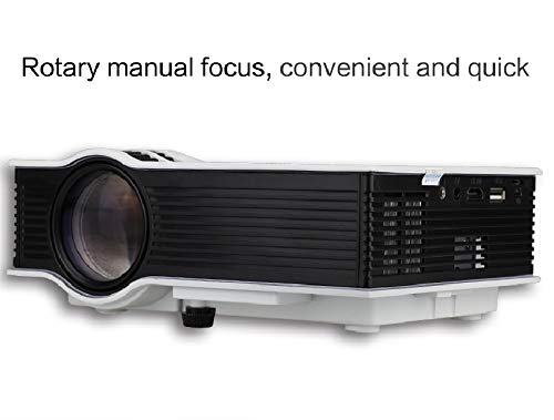 HONGLIHousehold LED portable mini micro projector projector