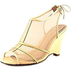 Pour La Victoire Bee Damen US 10 Natur Keilabsätze Sandale