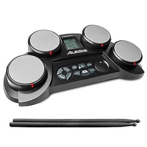 Alesis CompactKit 4 – Batterie Electronique avec 4 Pads Sensibles,