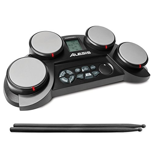 alesis-compactkit-4-portable-electronic-drum-kit-with-coach-feature-and-game-function-incl-drumstick