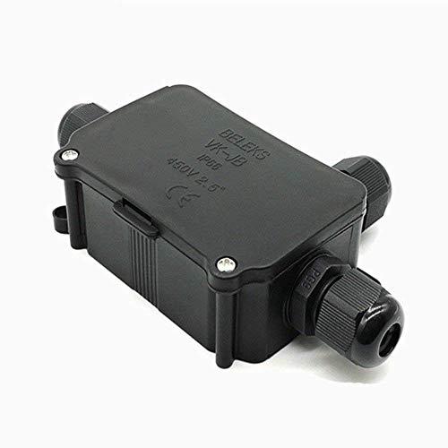 Resistente al agua caja de derivación conector conexión de cable Socket toma...