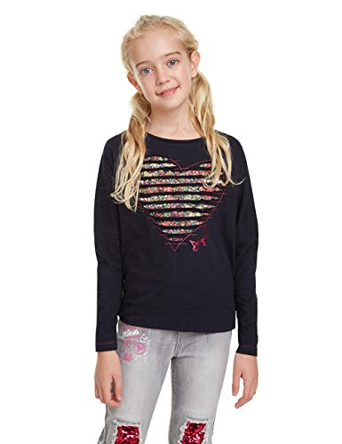 Desigual T Shirt Preston Maglietta Maniche Lunghe Bambina