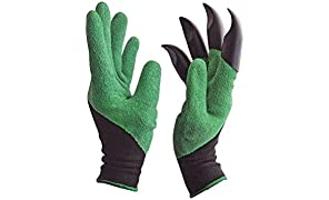 Kayos Garden Gloves With Claws For Digging & Planting - Unisex - One Size Fits All - 1 Pair