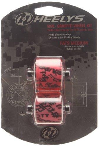 Heelys Fats Graffiti Abec 5, Roues - Rose/noir d'occasion  Livré partout en Belgique