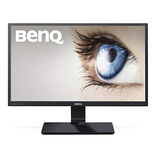 BenQ GW2470ML 60,45 cm (23,8 Zoll) LED Monitor (VA Panel, D-Sub, HDMI, 4ms Reaktionszeit, Low Blue Light Plus, Lautsprecher) schwarz 1080p Slim Bezel Lcd