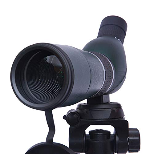 PIGE 15-45 * 60mm Spektiv mit Stativ, 60mm große Objektivlinse Low Light Level Nachtsicht High-Definition HD, für Zielschießen Vogelbeobachtung Bogenschießen Landschaft (größe : Bent Angle+Tripod)
