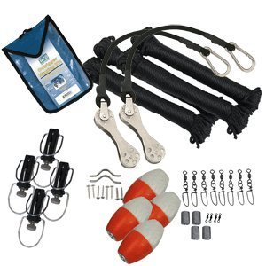 Taco Metals Marine Premium Double Rigging Kit for 2 Outriggers by Taco Metals -