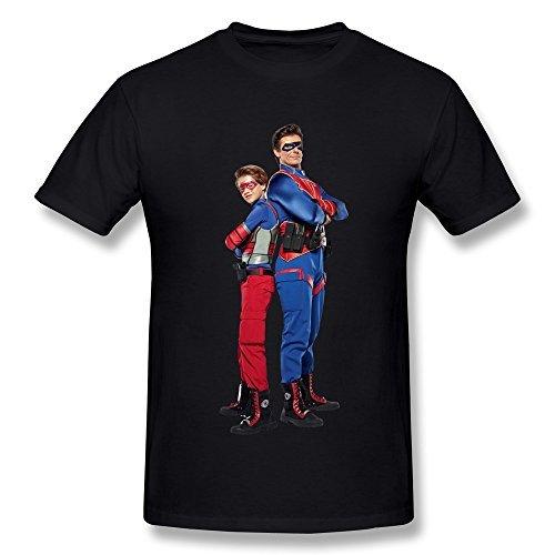 AdamimyClay® CaiTian Men's Henry Danger Poster T-Shirt - Kid Danger Kostüm