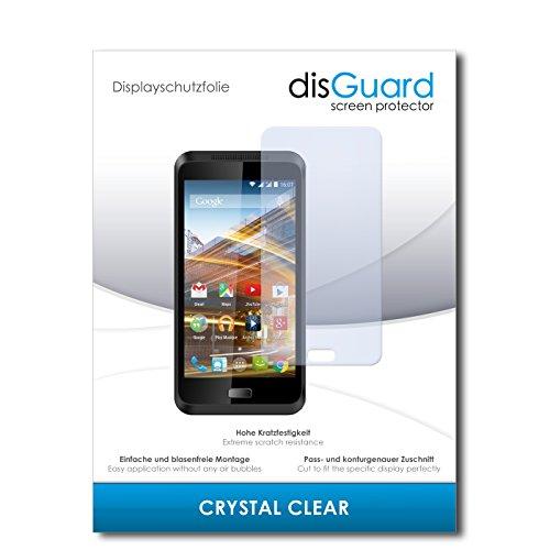 disGuard® Displayschutzfolie [Crystal Clear] kompatibel mit Archos 45 Neon [4 Stück] Kristallklar, Transparent, Unsichtbar, Extrem Kratzfest, Anti-Fingerabdruck - Panzerglas Folie, Schutzfolie